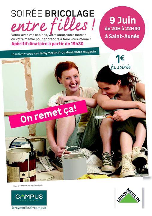 Soirée Bricolage Entre Filles Leroy Merlin Montpellier