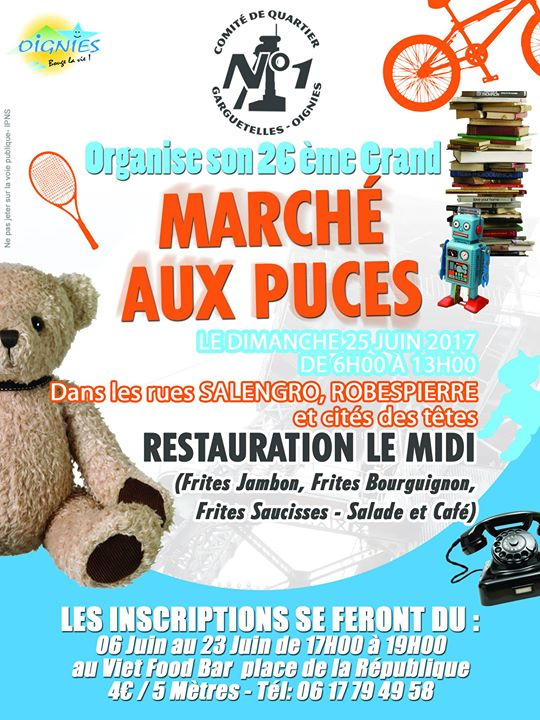 Marché Aux Puces Comité De Quartier N1 Oignies By Night