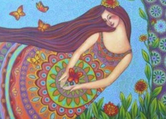 Le Jardin De Mon Ame Peinture Intuitive La Lumiere En