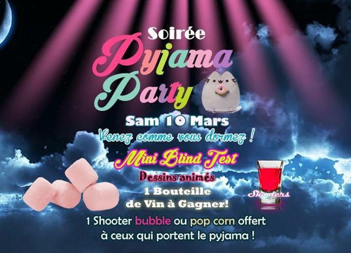 Soirée Pyjama Party Le Grenier Bar Ambiance Restaurant